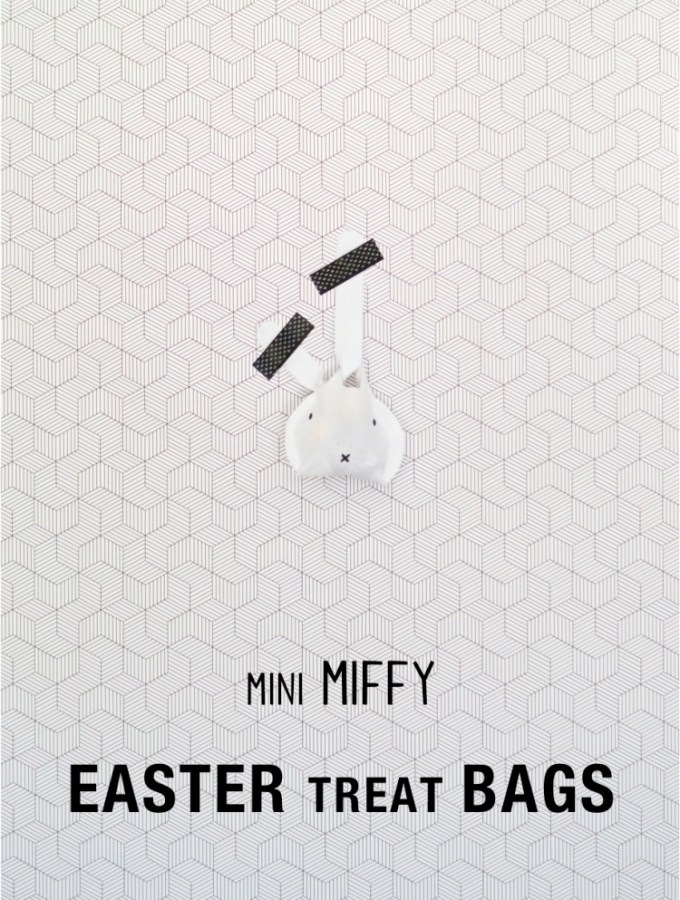 Miffy inspired DIY Easter treat bags