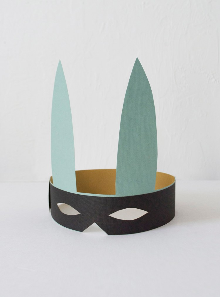 diy bunny mask for kids