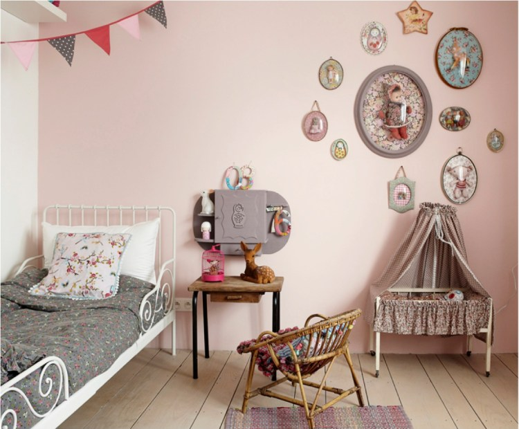 vintage kids room decor