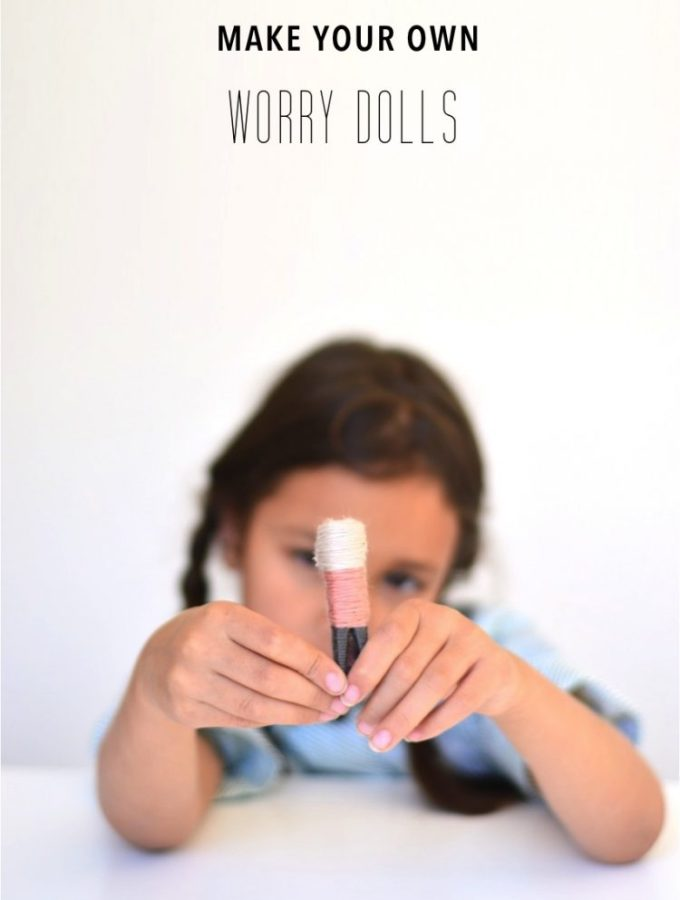 Worry dolls and how to make them