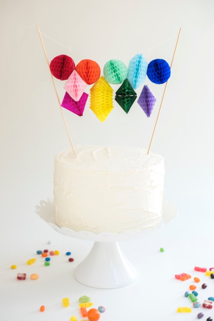 easy diy cake topper ideas