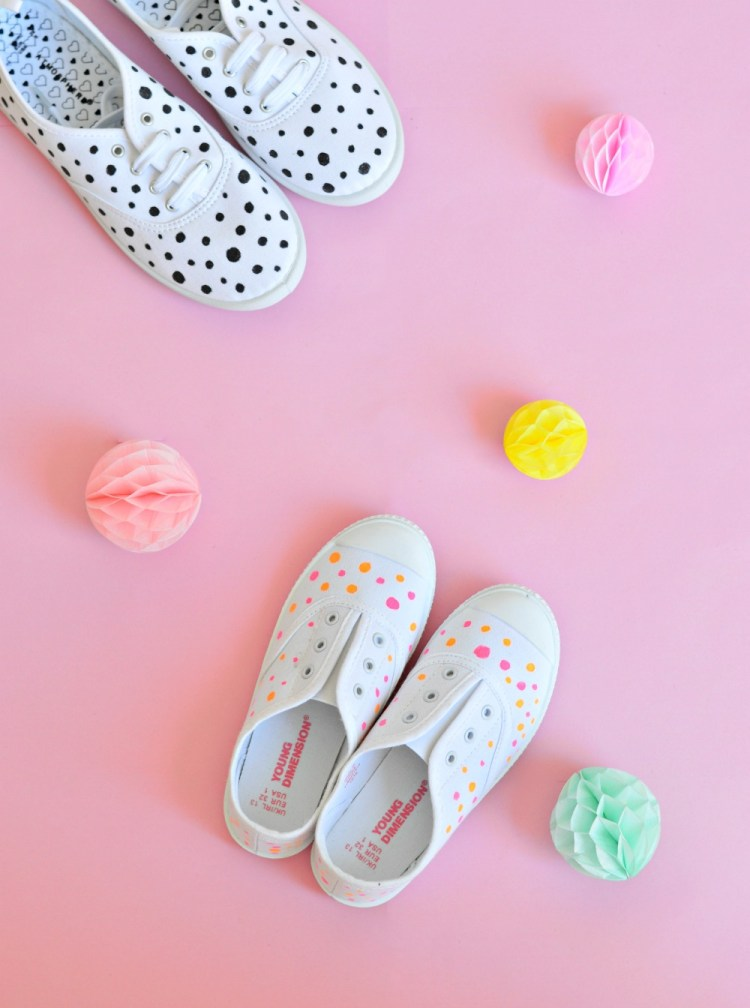 how to paint canvas shoes fabric paint