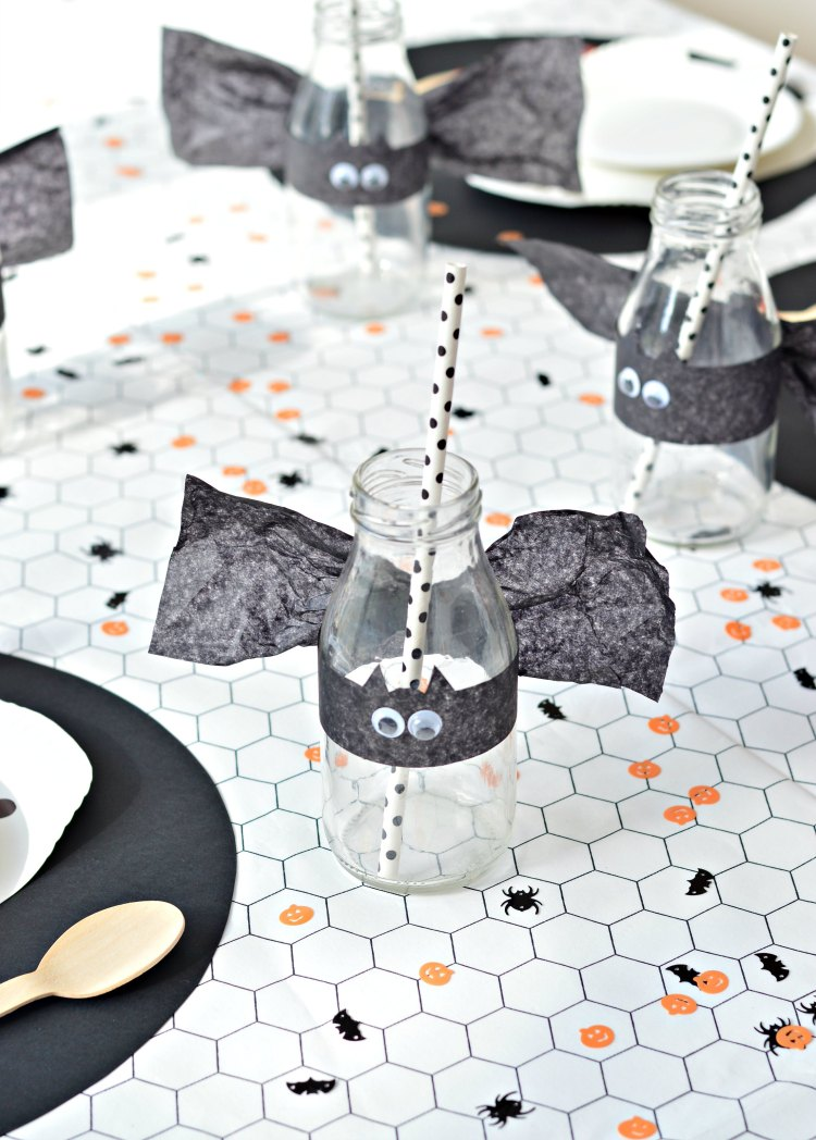 DIY Halloween party decorations