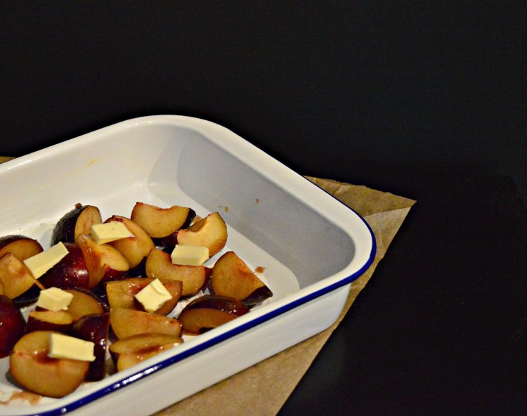 roasted plum and mascarpone recipe