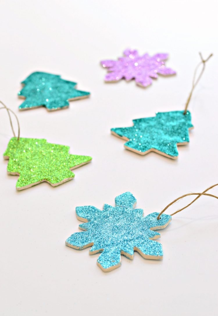 diy polymer clay Christmas ornaments