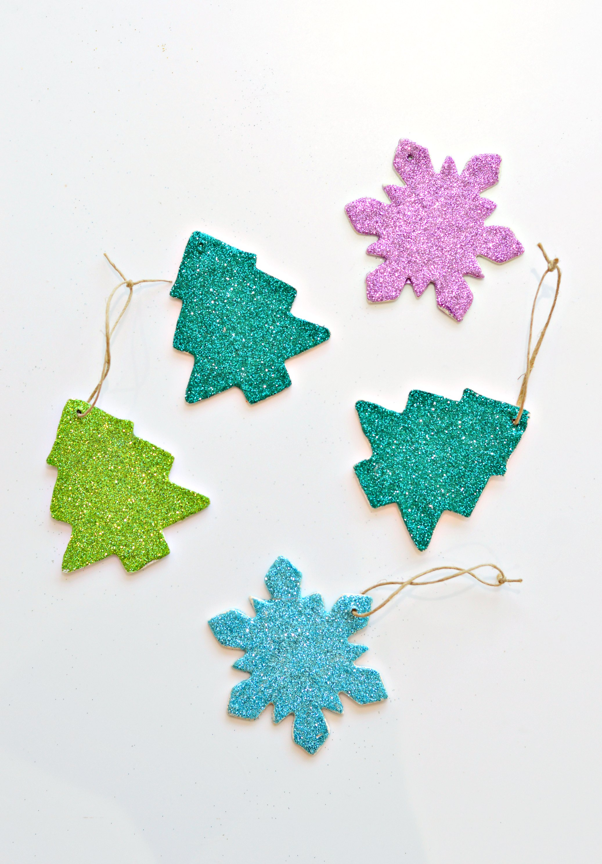 Beautiful Christmas Ornament Shapes Part - 14: Diy Polymer Clay Christmas Ornaments