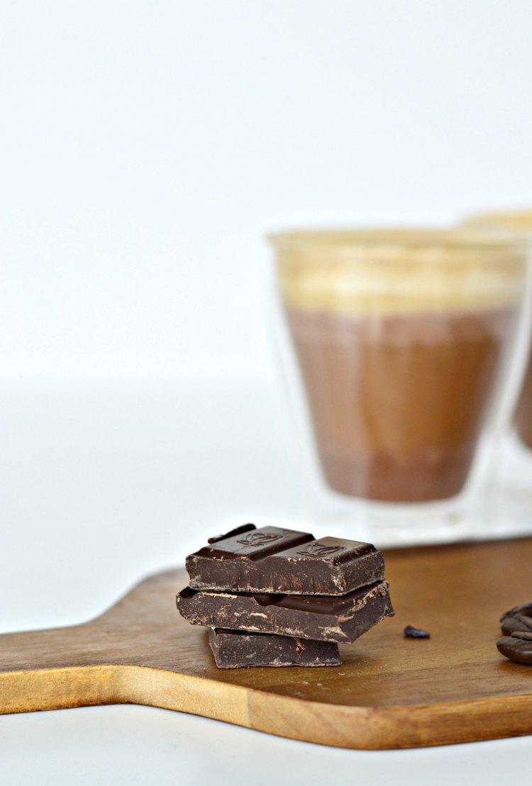 dark chocolate coffee drink recipe