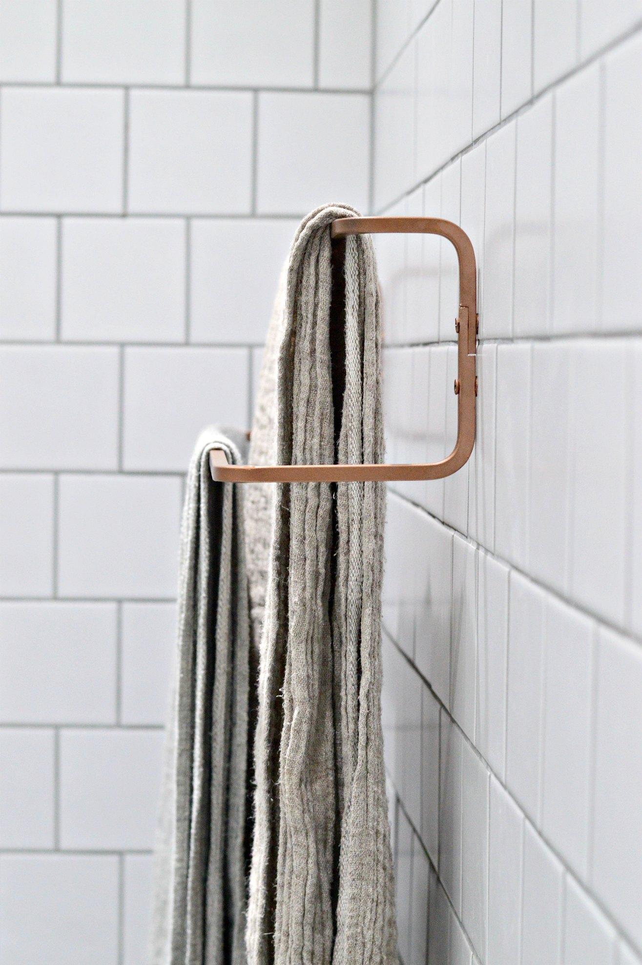 8 minute DIY: Ikea towel rail hack - DIY home decor - Your DIY Family