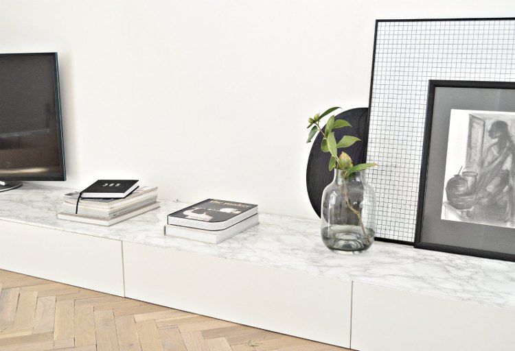 Ikea Cabinet Hack Minimal Living Room Tv Storage Unit Diy Home Decor Your Diy Family