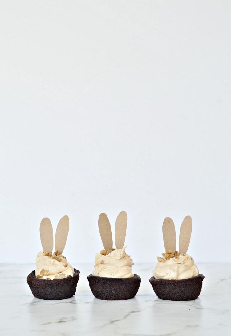 chocolate caramel cupcakes easy