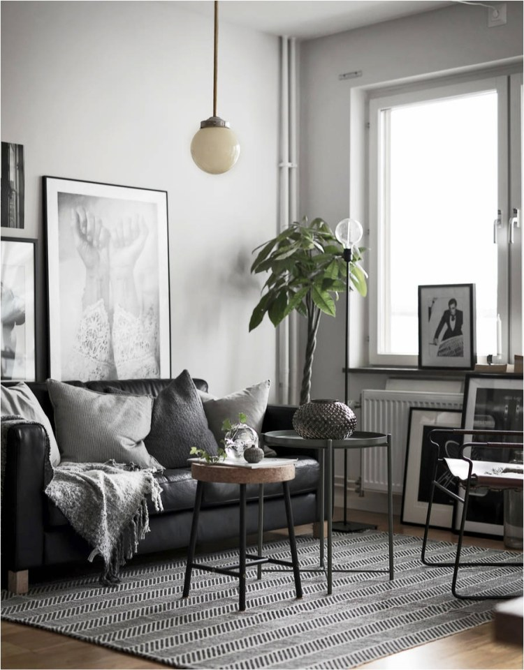 scandinavian style small living room ideas