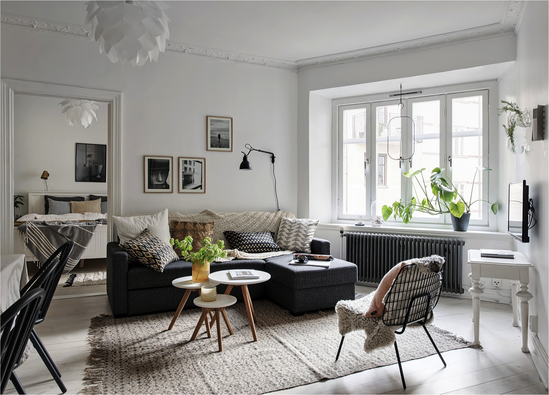 8 clever small living room ideas (with Scandi style) - DIY ... on Small Living Room Decor Ideas  id=55895
