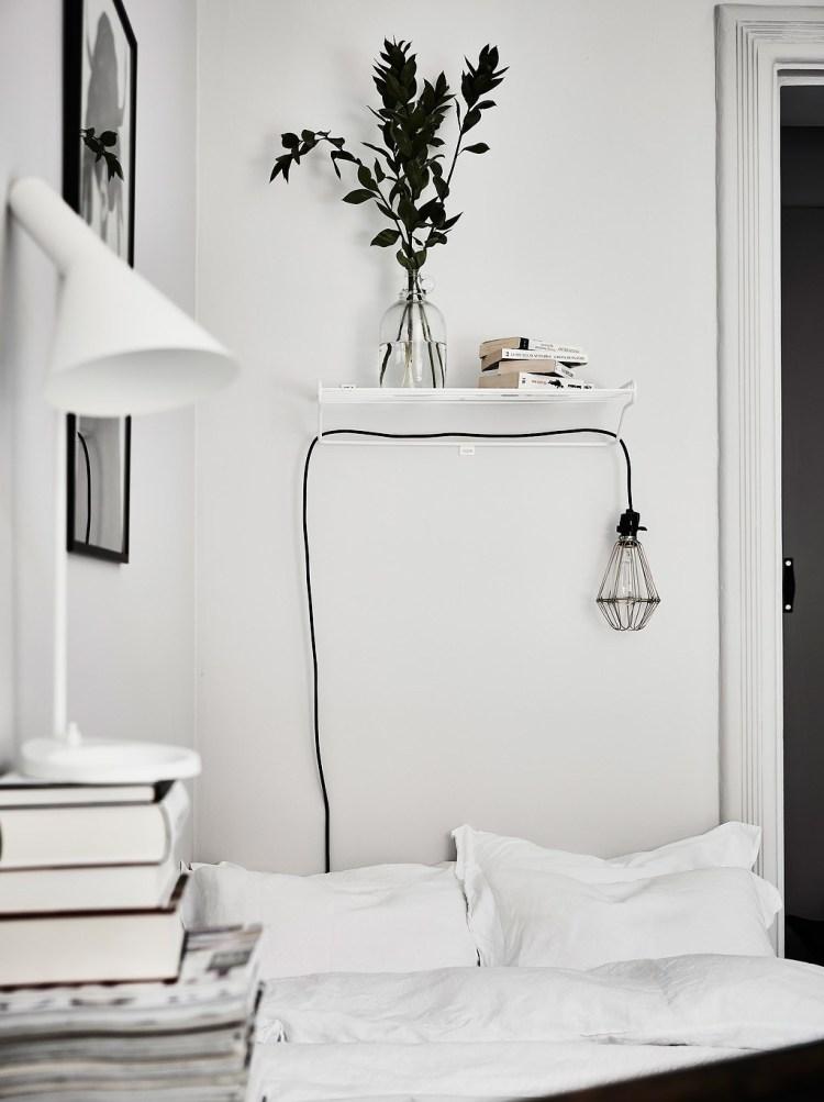 hanging pendant bedside light