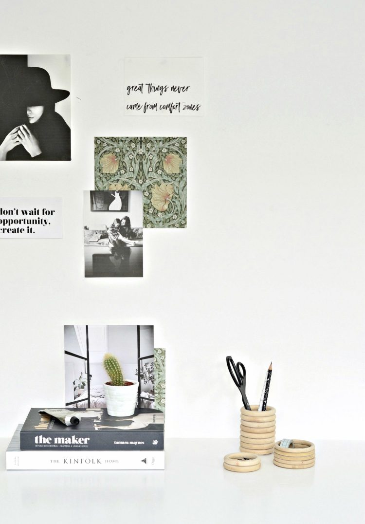 make your own pen holder diy