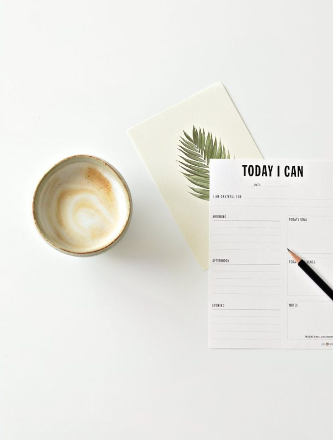 Be more productive with this free printable daily planner