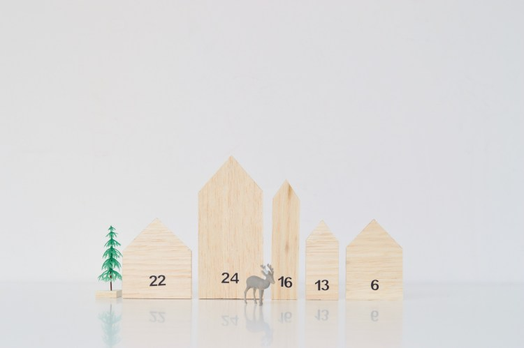 make your own advent calendar ideas