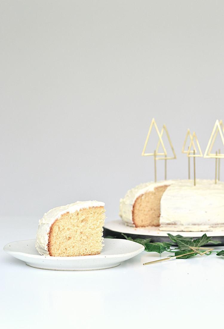 Christmas tree shaped cake topper