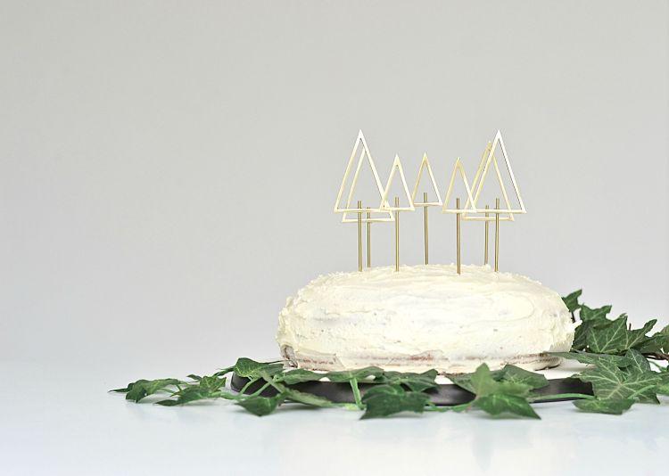 easy diy christmas cake decoration