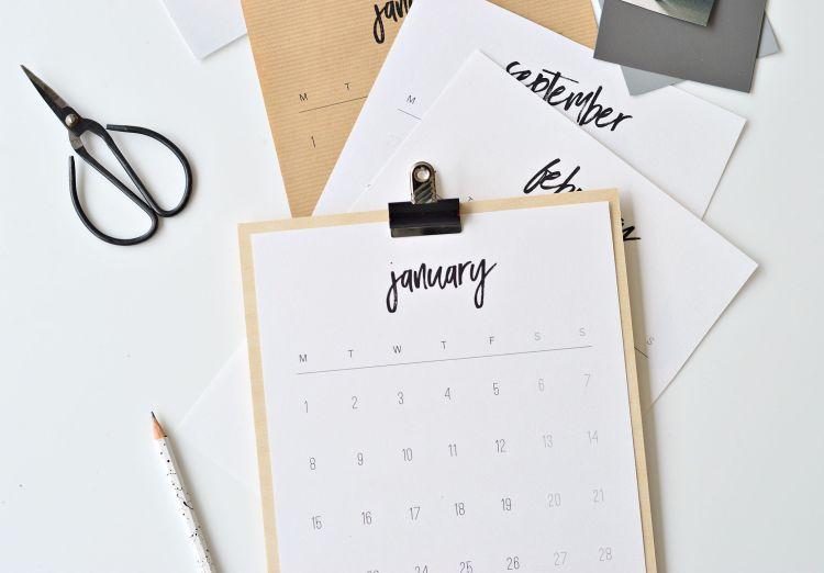 printable 2018 calendar PDF