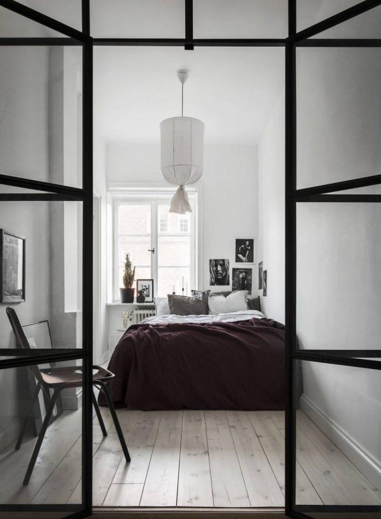 tips for minimal scandinavian style bedroom