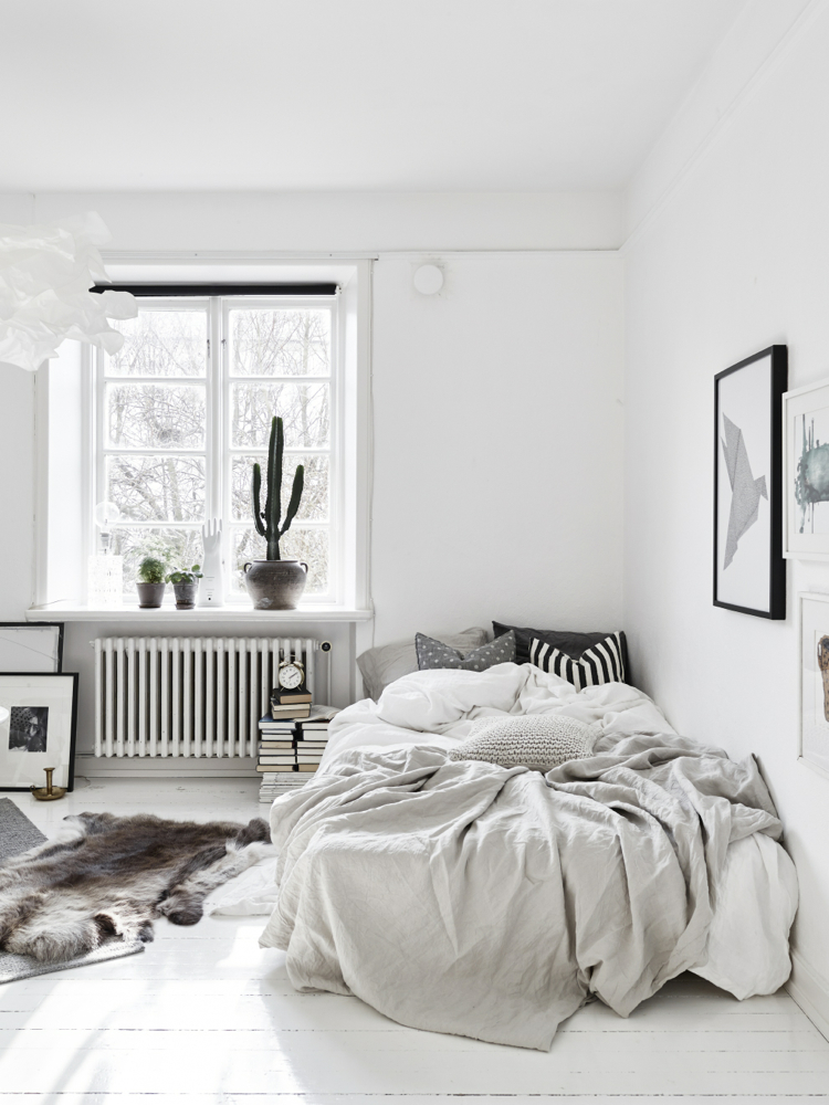 tips for scandinavian style bedroom