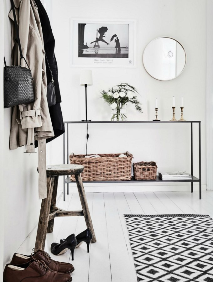 No-fail tips for a stylish & organised entryway (no matter what size)