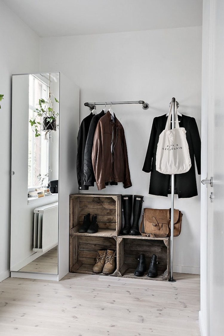 shoe storage ideas entrance
