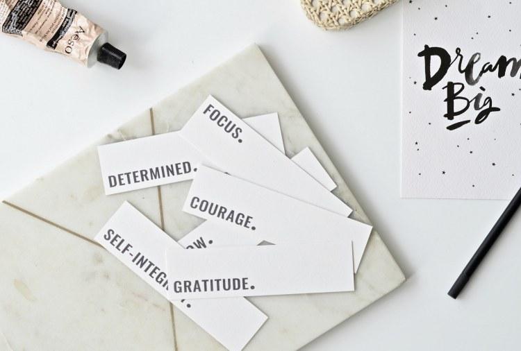 one word challenge free printable bookmarks