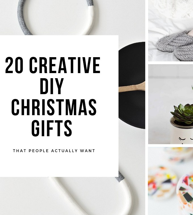 20 creative DIY Christmas gifts that your friends and family will love