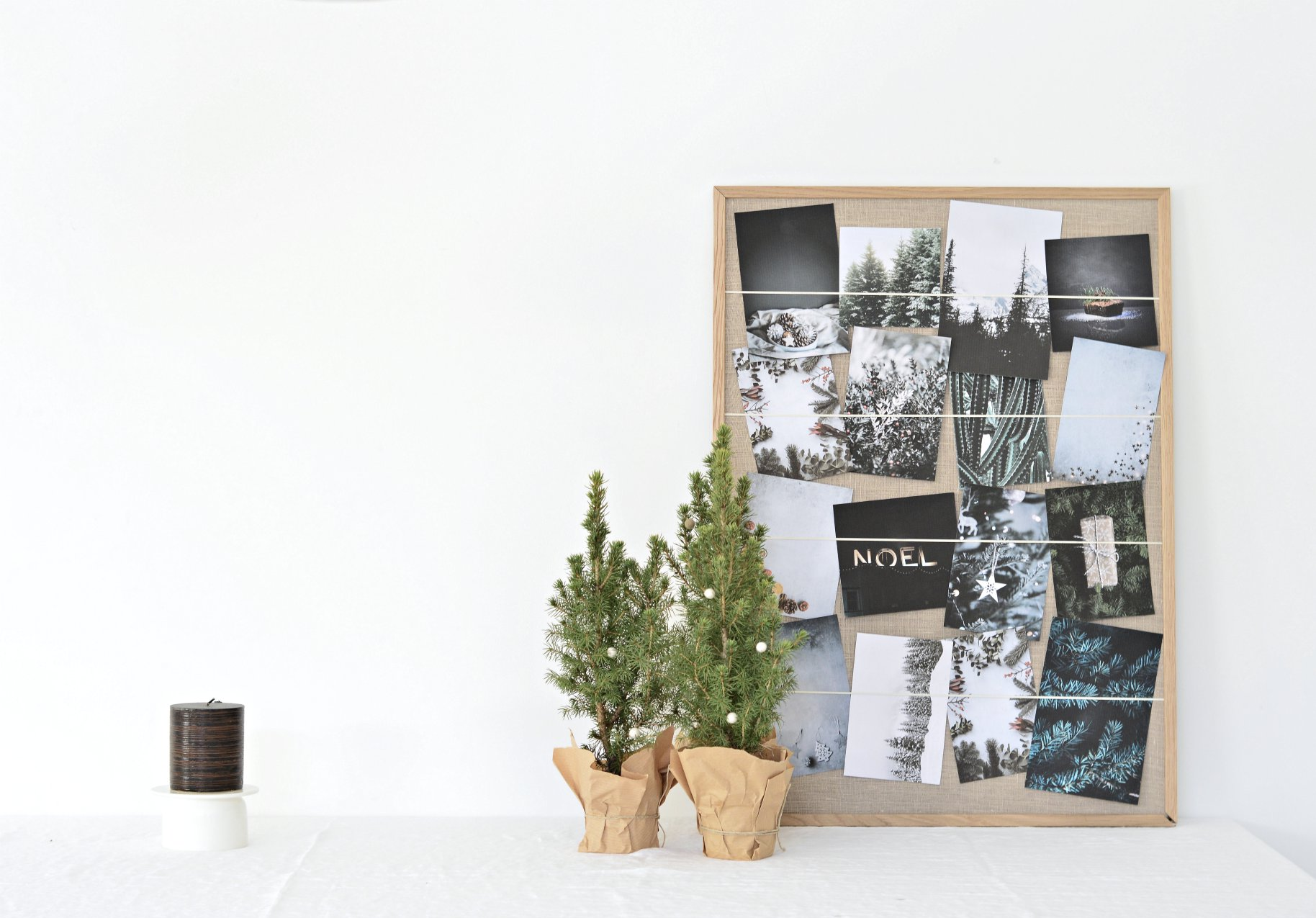 Turn An Old Picture Frame In To A Diy Christmas Card Holder Your