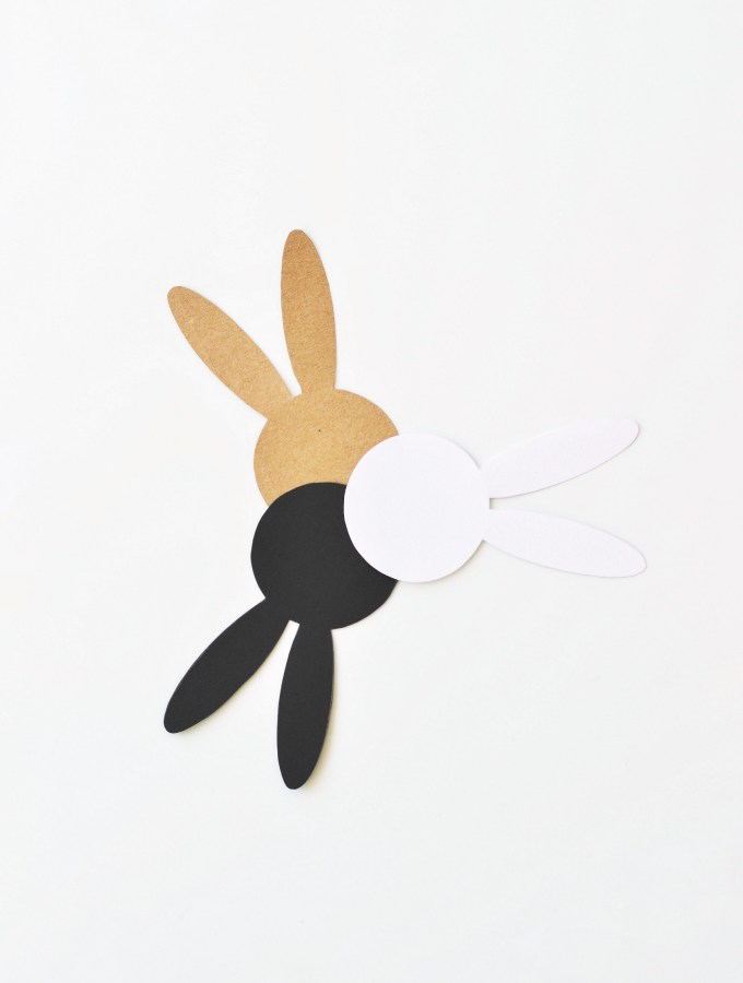 The cutest Easter bunny cards (with free template)