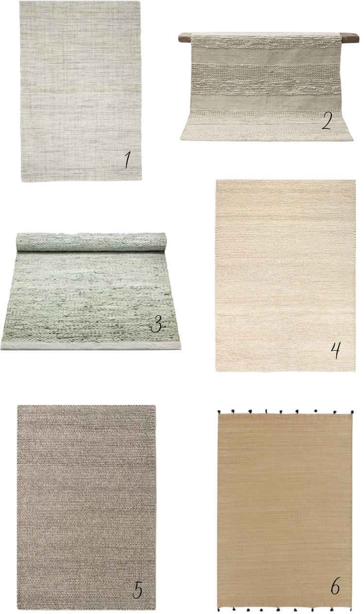 minimal affordable rugs