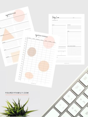 weekly daily planner printable