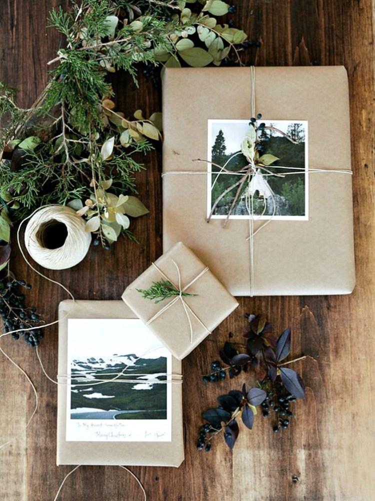 parcel paper gift wrap