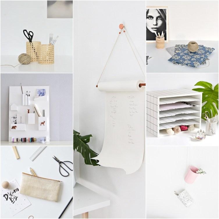 stylish desk accessories to diy
