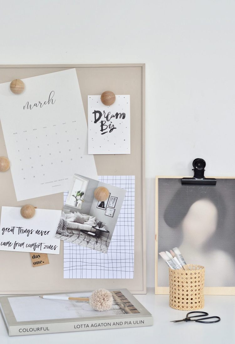 Ikea cork board hack
