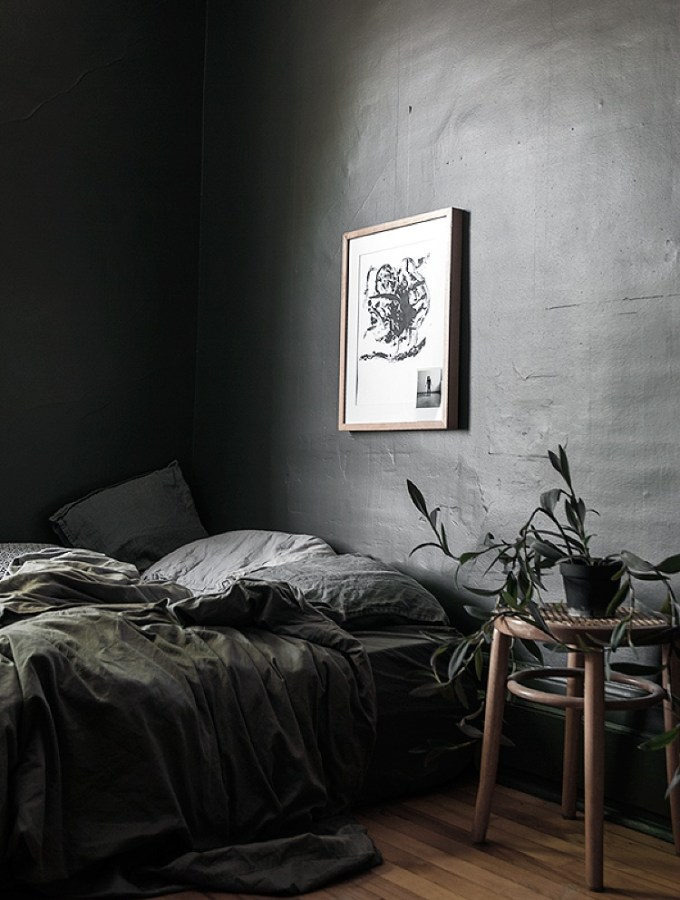 Embrace the dark side: decorating with dark colors in your bedroom