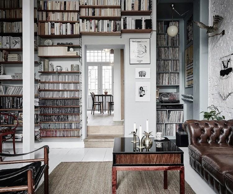 floor to ceiling shelves