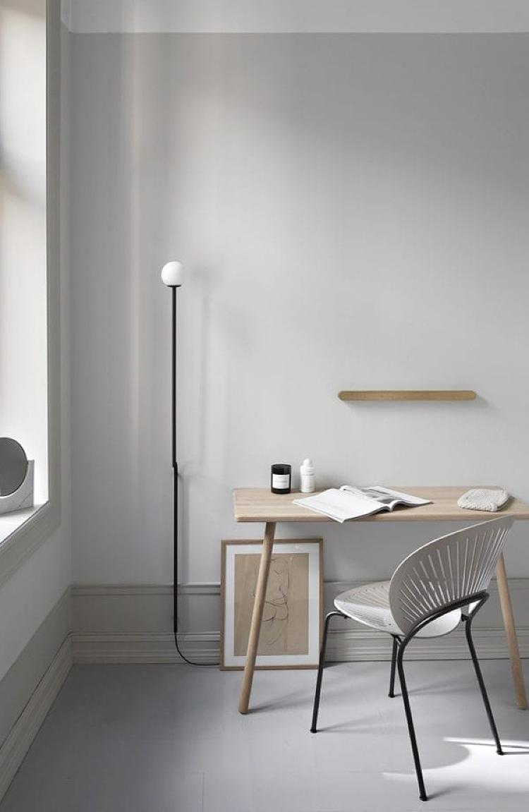 minimal lighting for home office