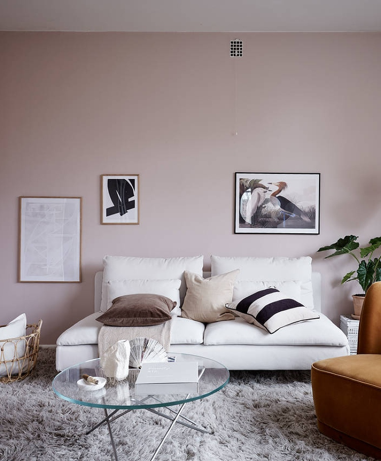warm neutral paint colour for living room