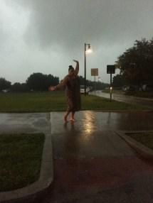 Walking Rain Barefoot