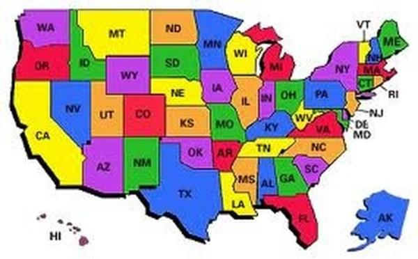 Bucketlist Visit all 50 states Official Bucket List