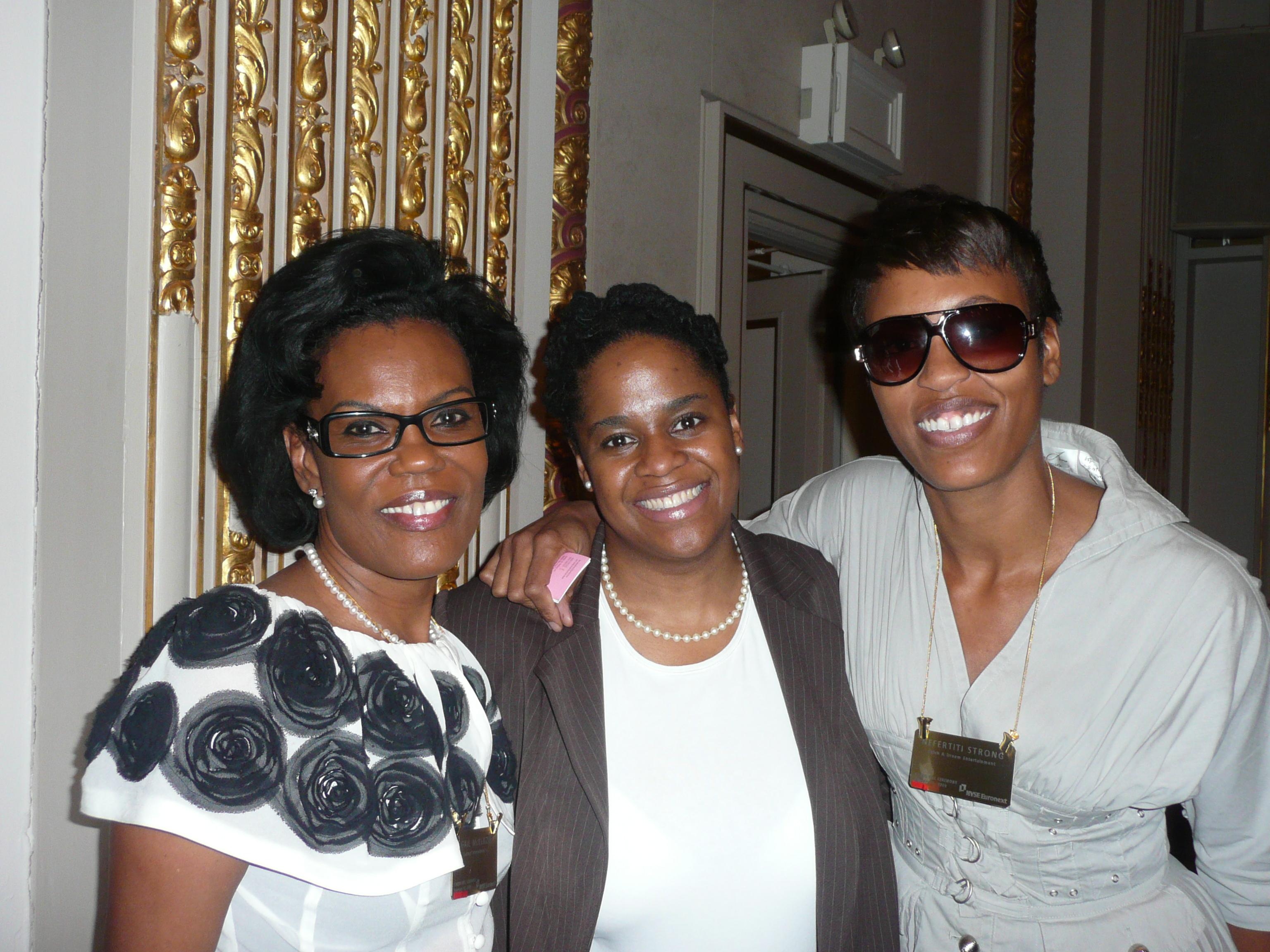 Gail Mckenzie, Attache' to the President of Gabon, Mshaka, Nefertiti Strong, MEGA Dream