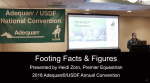 Footing Facts & Figures