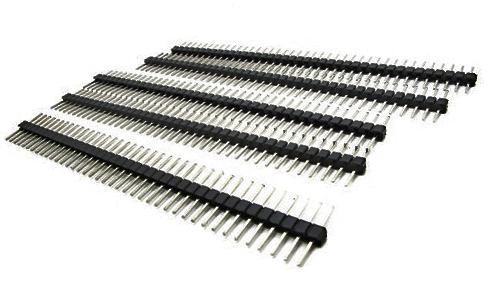 Pins Multipurpose: Male-Male (5 strips of 40)
