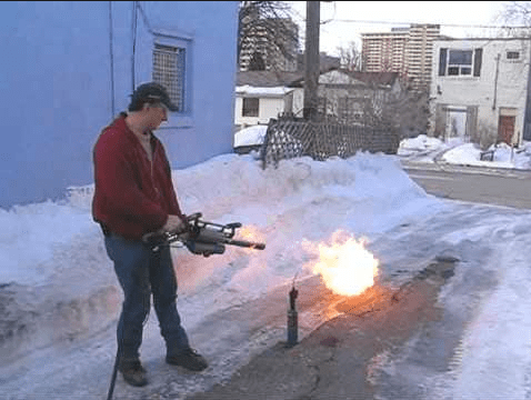 Milwaukee to Issue Flamethrowers to Residents