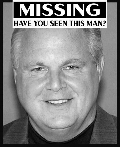 Rush Limbaugh has Been Missing for an Entire Year