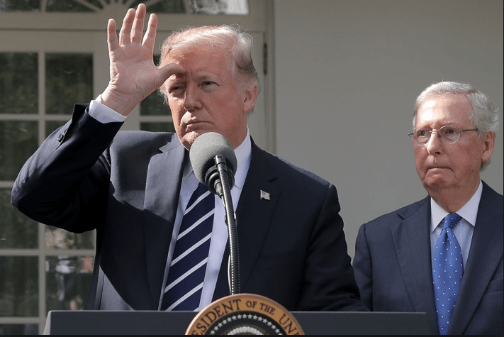 Angry McConnell watches as trump incorrectly explains how mayo is made of eggs that come from roosters .png