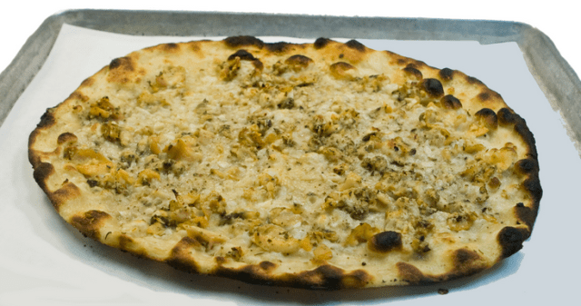 White Klan Pizza from Connecticut