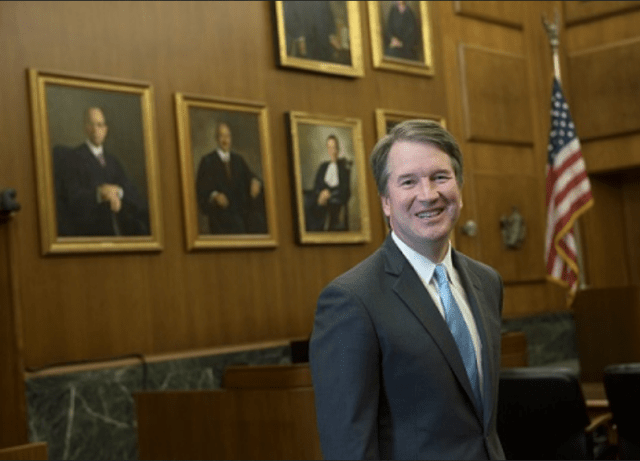 Kavanaugh Avoids Sex Scandal by Becoming Ordained Priest Overnight
